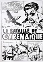 Planche originale de « La Bataille de Cyrénaïque » : M.15 n°6 (1968).