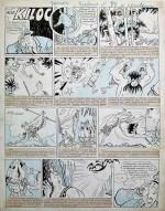 Planche original d'un récit complet paru dans Junior avant-guerre.