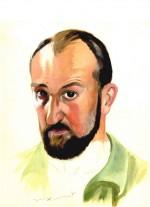 Autoportrait de Jean Trubert daté de 1942.