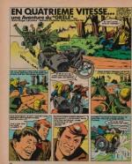 « Le Grêlé 7-13 » Vaillant n° 1101 (19/06/1966).