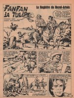 « Fanfan la tulipe » Pif gadget n° 1359/121 (06/1971).