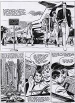 « Docteur Justice » page d'essai (1969).