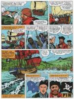 « Barbe rouge : La Guerre des pirates » : dernière planche dessinée par Gaty, Dargaud (1997).
