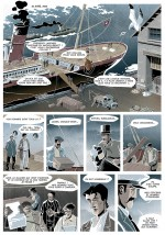 Le départ pour le lieu du naufrage du Titanic...