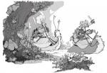 Lancelot dessin page 1