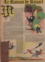 « Le Roman de Renart » Vaillant n° 639 (11/08/1957).