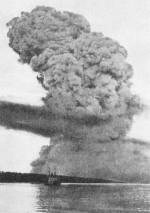 Photo nuage fumée Halifax-Africville 1917