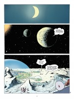 Un monde confiné... (planches 6 et 7 - Delcourt 2021).