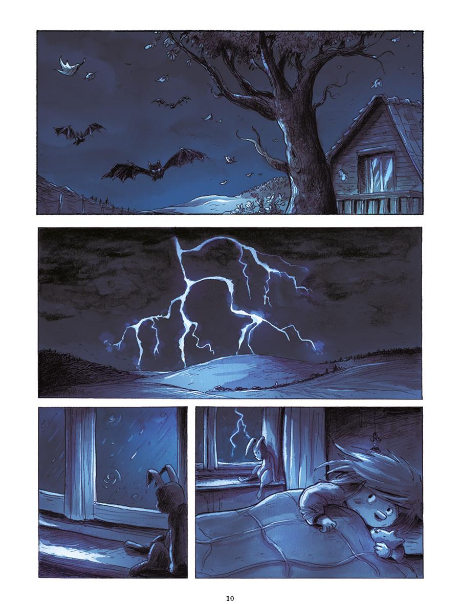L'orage qui déclenche les peurs de Luce...