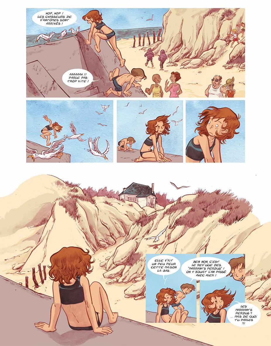 «Les Bonhommes de pluie » page 13