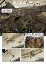 Le métissage des forces alliées... (planche 1 - Dupuis 2021).