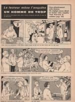 « Le Lecteur mène l'enquête » Télé gadget n° 4 (13/10/1971).