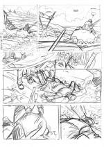 Crayonné planche page 17.