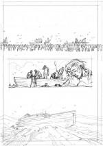 Crayonné planche page 12.