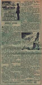 Illustration pour « Au grand balcon » dans Zorro n° 205 (05/1950).