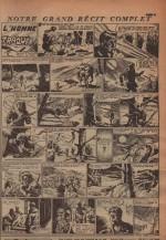 « L'Homme traqué » Zorro n° 225 (01/10/1950).