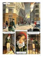 « Le Vol du corbeau », planche 1 (Dupuis, 2002).