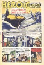 Une aventure du lieutenant Mac Tomson dans le n° 42 des Héroïc Albums, daté du 18 octobre 1950.