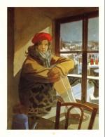 Un visuel en reflet du « Sursis » : illustration « Le Vol du corbeau » réalisée pour le portfolio « Eté comme hiver » (Daniel Maghen, 2007).