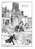 Perceval de la Marche, préfiguration d'Arsène Lupin (tome 2, planche 12 ; Rue de Sèvres, 2015-2021).)