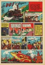 « La 001 a disparu » Coeurs vaillants n° 47 (1958).