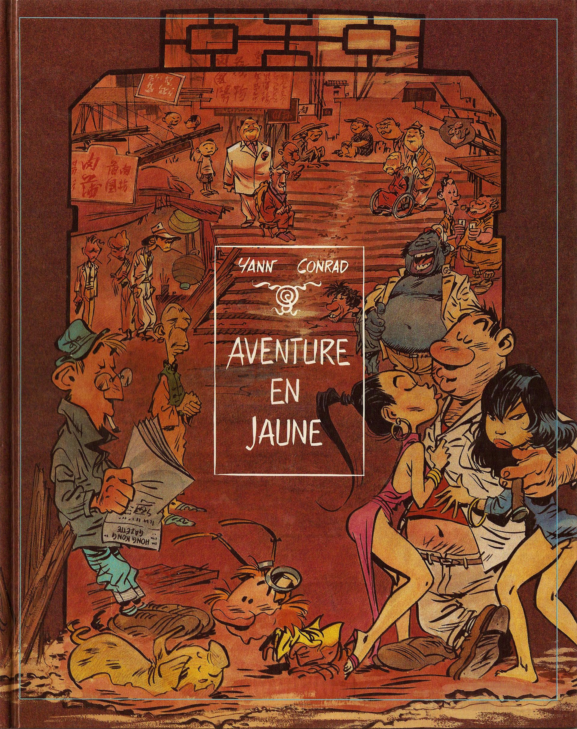 « Aventure en jaune » version Bédéscope/Glénat (mars 1986).