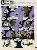 Carte blanche à Didier Conrad ! Première planche de l'auteur publiée dans Spirou en janvier 1974.