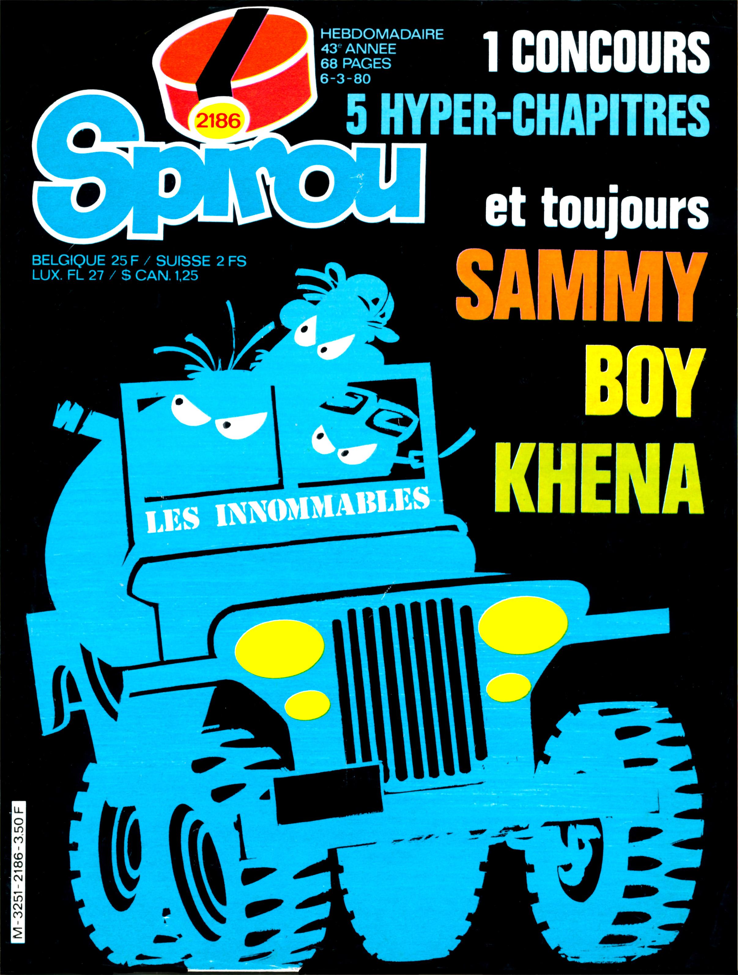 « Les Innommables » sont officialisés en couverture du n° 2186, le 6 mars 1980.