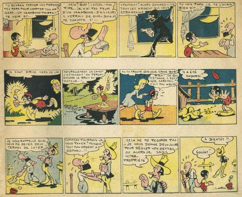 « Les Aventures de Bob » Éditions de Montsouris (4e trimestre 1946).