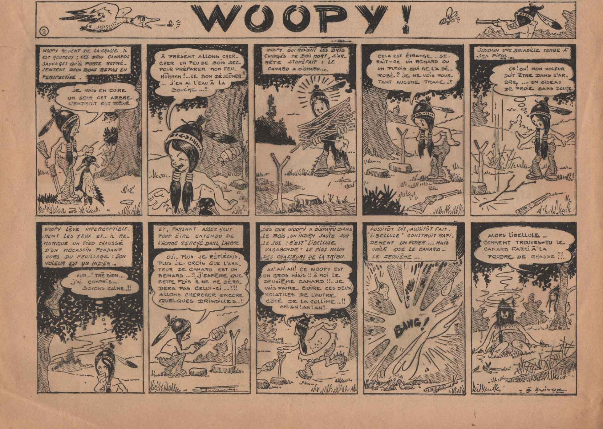 « Woopy » Pierrot n° 16 (17/04/1949).