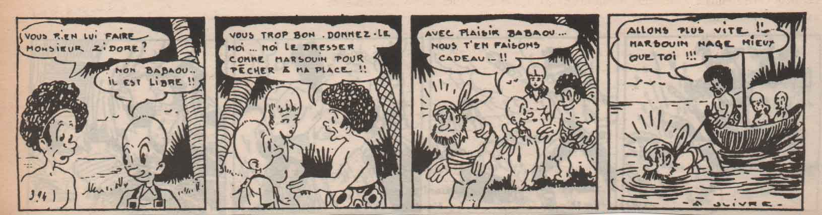 « Zidore » Le Patriote (1947).
