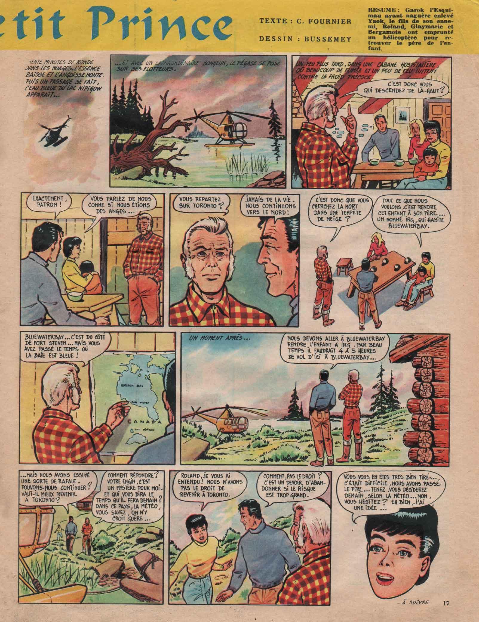 « Yook le petit prince » Line n° 374 (09/05/1962).