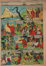 « La Rose des vents » Cœurs vaillants n° 11 (16/03/1958).