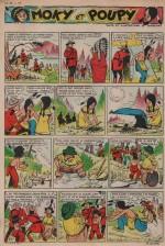 « Moky et Poupy » Cœurs vaillants n° 26 (29/06/1958).