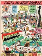 Illustration « Faites du neuf » J2 jeunes n° 6 (10/02/1966).