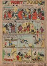 « Moky et Poupy » Cœurs vaillants n° 52 (28/12/1961).