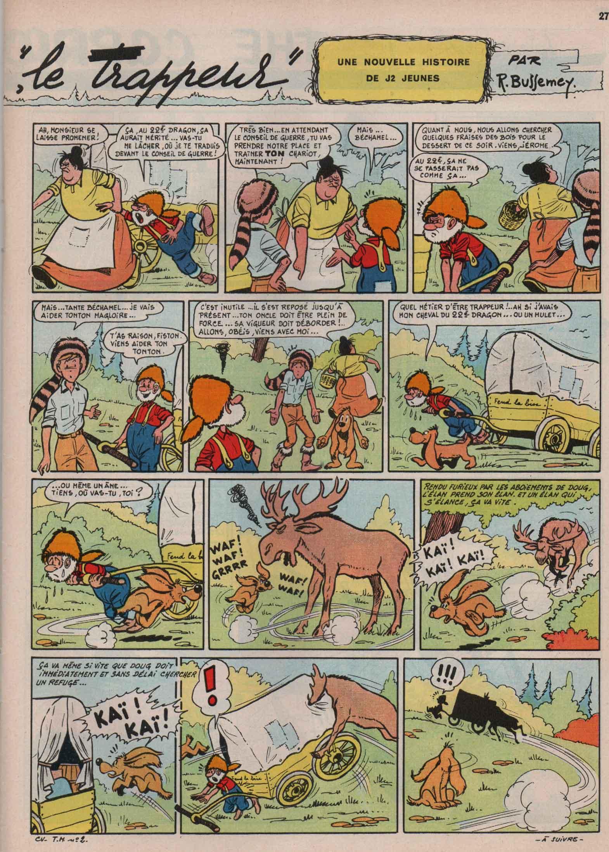« Tonton Magloire » J2 jeunes n° 17 (23/04/1964).