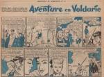 « Aventures en Voldarie » Fripounet et Marisette n° 16 (21/04/1957).