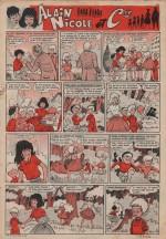 « Alain, Nicole et Cie » Fripounet et Marisette n° 17 (25/04/1963).