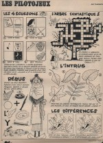 Jeux Pilote n° 25 (28/11/1968).