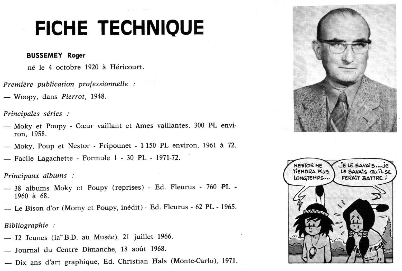 Photo dans Haga n° 4 (février 1973).