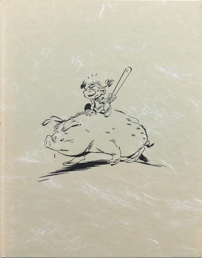« Cloaques » : couverture et extraits du tirage de tête Dargaud (1996).