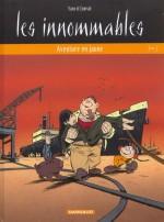Couverture d'« Aventure en jaune » pour la deuxième maquette de la série (Dargaud, 2002).