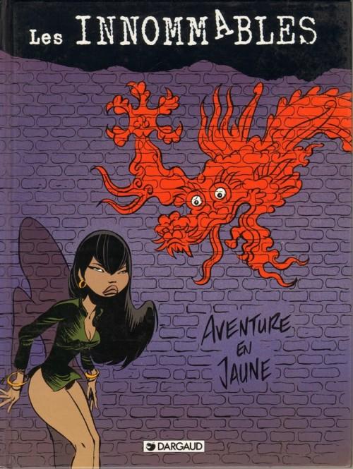 « Aventure en jaune », en réédition augmentée chez Dargaud (nov. 1996).