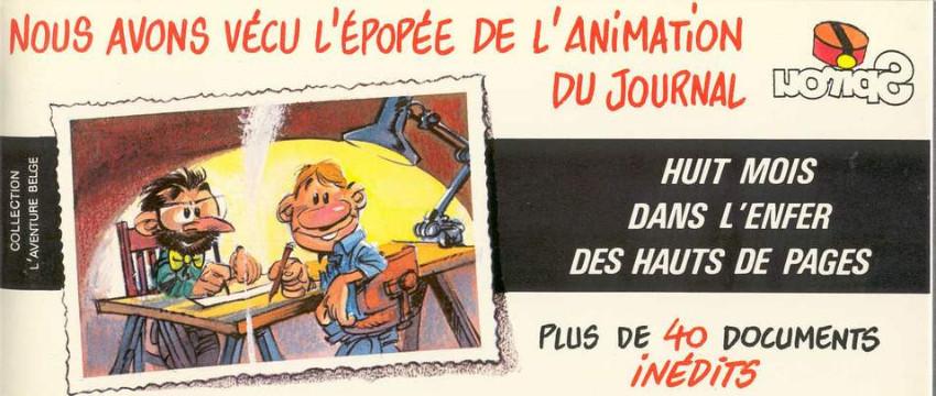 Des « Hauts de pages » devenus mythiques... (Couverture éd. Bidouille 1981 et extrait de l'intégrale Dargaud 2013).