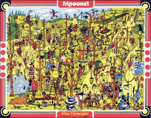 Poster Fripounet n° 18 (30/04/1975).