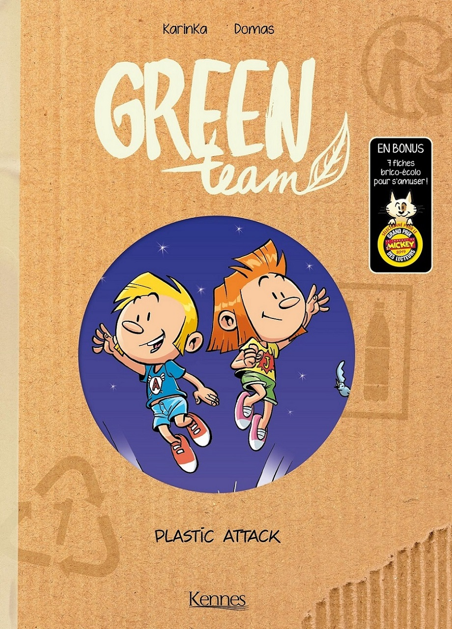 Green team T 2 couverture
