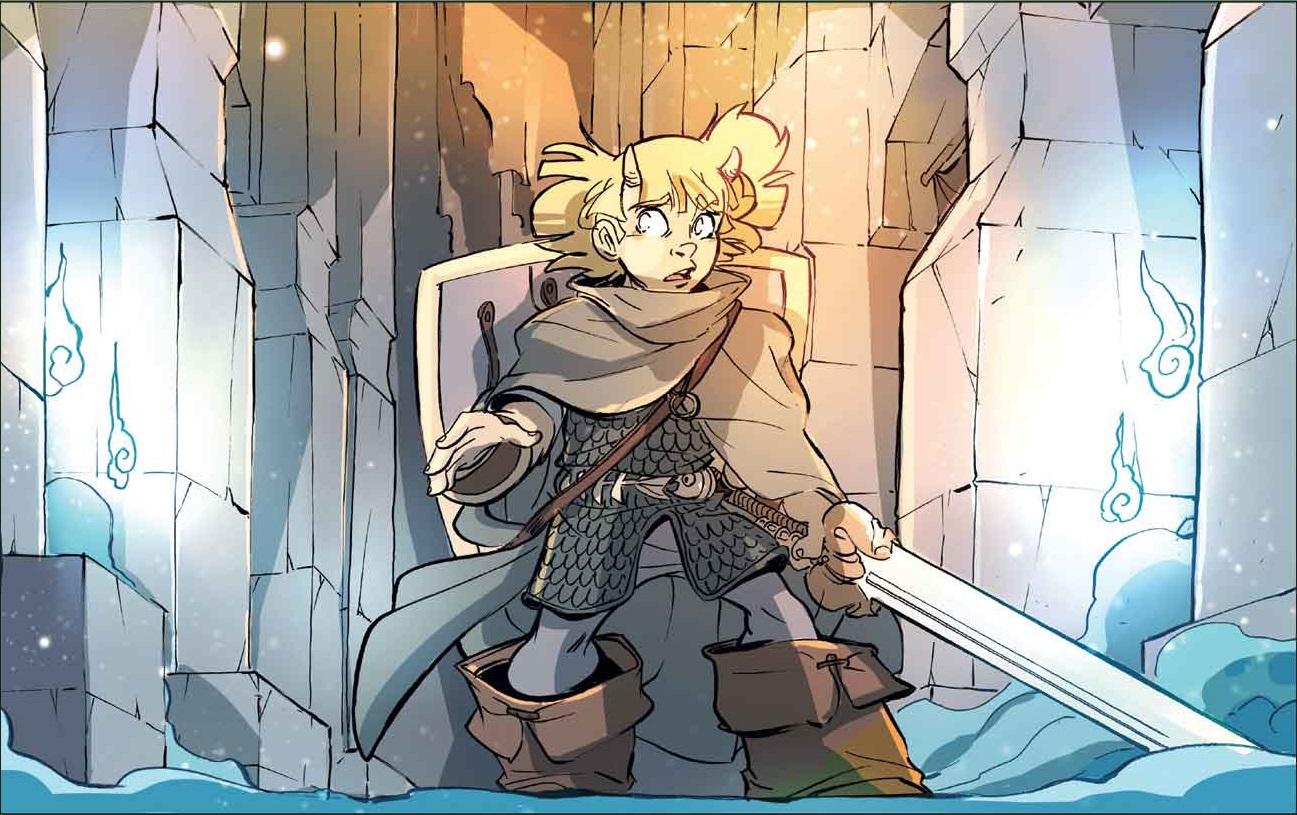 Lancelot, jeune chevalier