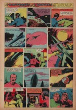 « Les Naufragés de l'univers » Hurrah ! n° 160 (10/11/1956).