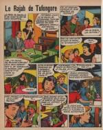 « Le Rajah de Tufongore » la Semaine de Suzette n° 91 (20/08/1959).